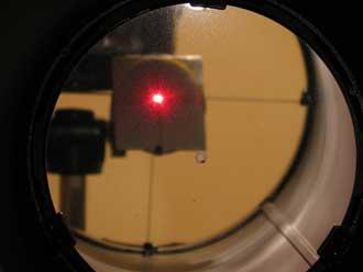 Astrotreff astronomie treffpunkt newton justierung mit filmdose