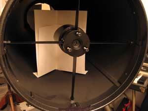 Taunus astronomie die newton justage